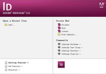 Adobe InDesign cs3中文破解版下载