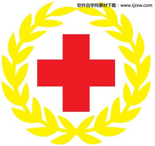 红十字会会徽矢量图标志免费素材下载