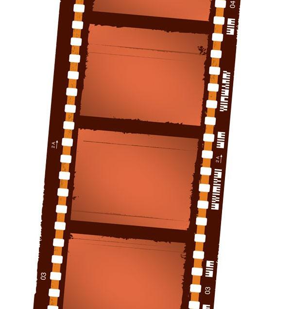 电影胶卷条的ai格式矢量图免费素材下载