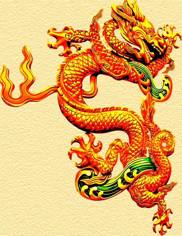 松鹤延年精品国画素材矢量图 下一个素材:中国风格的笔墨纸砚矢量国画