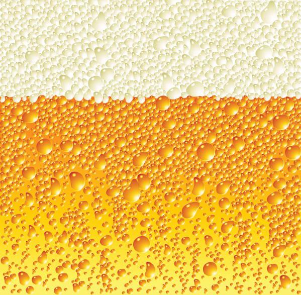 含jpg预览图,关键字:矢量背景,啤酒,泡沫,气泡,清凉,凉爽,夏天,矢量图