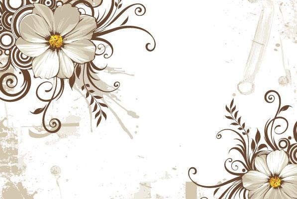 欧式风格婚礼婚庆花纹边框矢量图素材下载