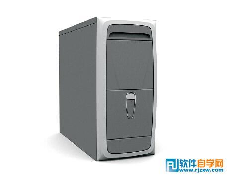 宏基电脑主机箱3d模型免费素材下载