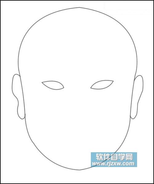 用photoshop鼠绘画京剧脸谱教程