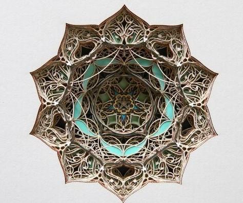 纸雕艺术工业设计