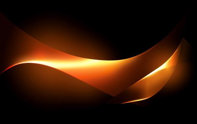 photoshop制作非常漂亮的金色光束