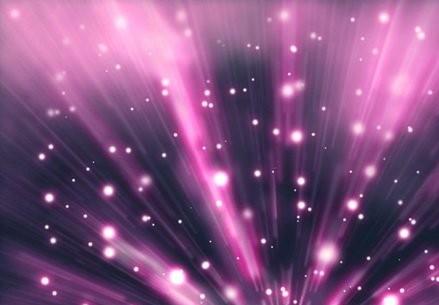 利用画笔及滤镜打造梦幻的紫色放射背景