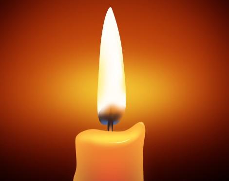 制作简单的蜡烛与火焰